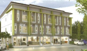 [บ้านชลบุรี] โอโซน เพลส ทาวน์โฮม อาคารพาณิขย์ ใกล้ตลาดวรกิจ ศรีราชา