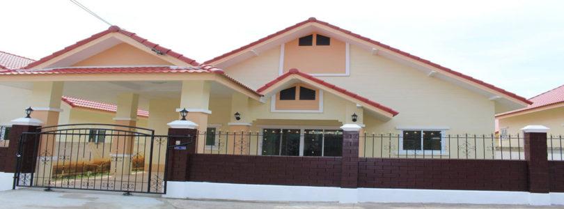 [บ้านชลบุรี] บ้านอมรินทร์ ซิตี้ เฟส 2 บ้านเดี่ยว สัตหีบ-ชลบุรี