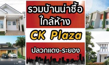 รวมบ้านน่าซื้อใกล้ห้าง CK Plaza ปลวกแดง-ระยอง